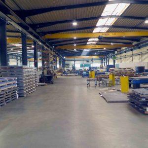 Erweiterung der Produktionsfläche um 1.500 qm